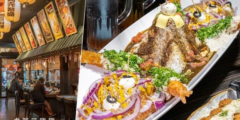 咕嚕咕嚕家(高雄)鳳山五甲必吃咖哩飯!瘋狂霸氣大食量海盜船,還有4公分厚的角煮肉咖哩