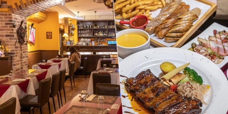 波斯特餐廳(高雄)隱藏文化中心旁的磚牆餐廳!肉食必點樵夫煙燻豬肋排,濃湯麵包飲料無限量供應