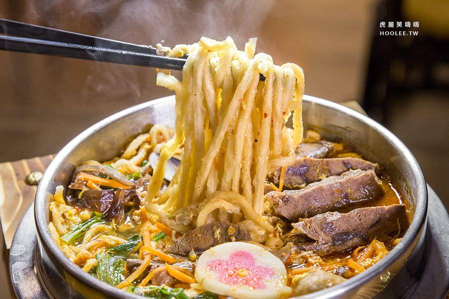 鍋呆子鍋燒專賣(高雄)超滿足牛肉鍋燒麵,自熬湯頭!必吃四川麻辣湯