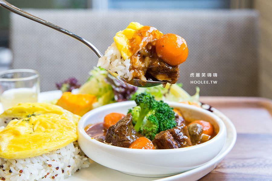 奇可烘培坊(高雄)紅酒燉牛肉定食套餐,肉控推薦!還有超夢幻彩虹優格