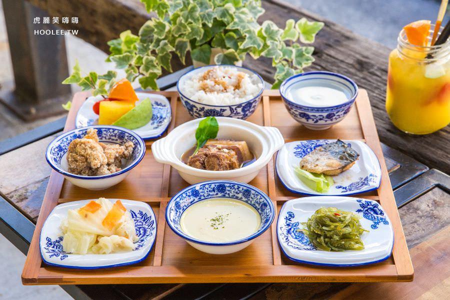 Day&Night 您的日夜小餐館(高雄)超滿足9宮格定食!早午餐必吃金黃法式吐司