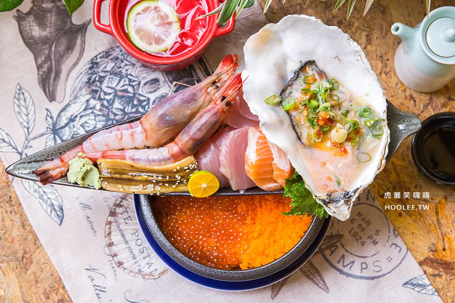 做夢咖啡餐館(屏東)爆多雙層8種海鮮丼飯,超狂必吃!滿滿的鮭魚卵溫醋飯