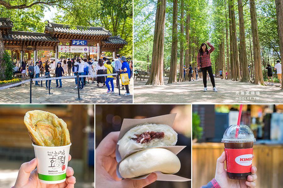 南怡島(韓國)冬季戀歌浪漫拍攝地,爆美景點!超好拍水杉林道與美食推薦