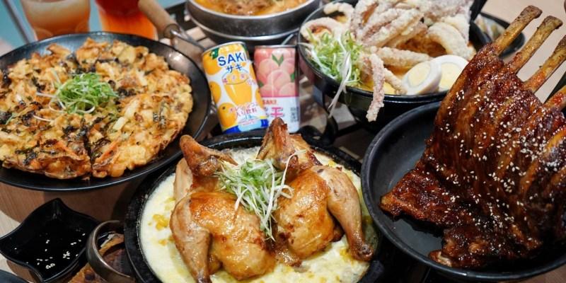 【台中西屯區】O八韓食新潮流。中科商圈。浮誇系韓式料理。平日商業午餐。聚餐首選