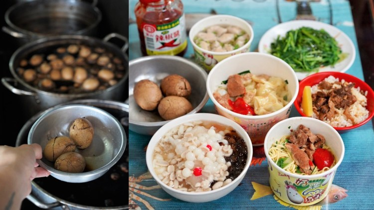 【中華麵店】Goolge評價4.2顆星,在地人從小吃到大的回憶!有別於一般小吃店,還有十全茶葉蛋、湯圓冰、豆花可以選擇!