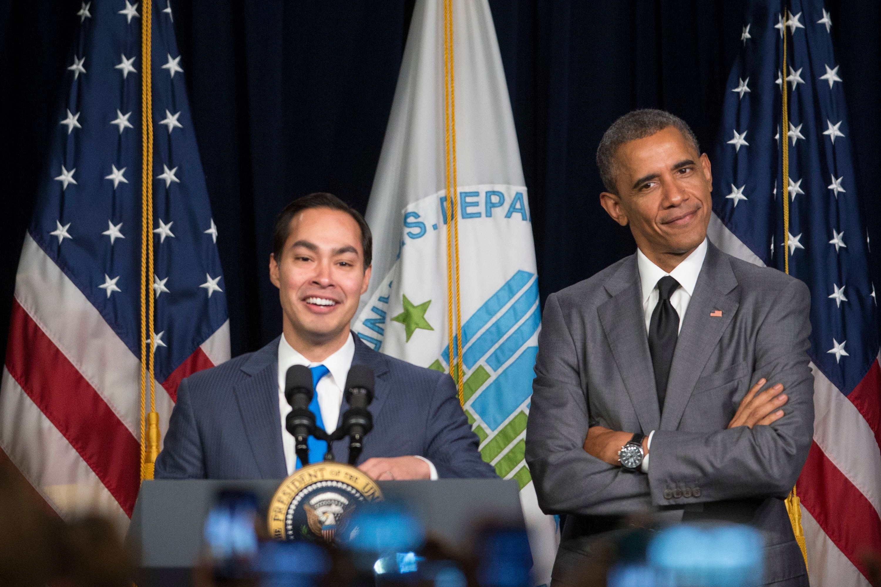 "<span class='image-component__caption' itemprop=""caption"">HUD Secretary Julián Castro with President Barack Obama.</span>"
