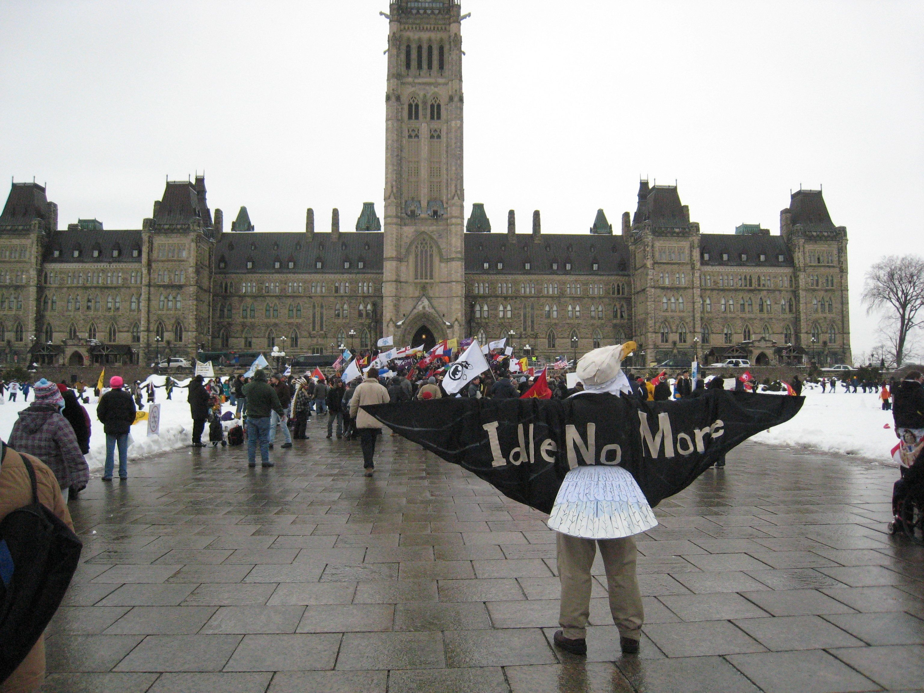"""<span class='image-component__caption' itemprop=""""caption""""><span style=""""color: #262626; font-family: arial, sans-serif; font-size: 13px; line-height: 16px;"""">The Idle No More Movement holds a protest on Parliament Hill.</span></span>"""