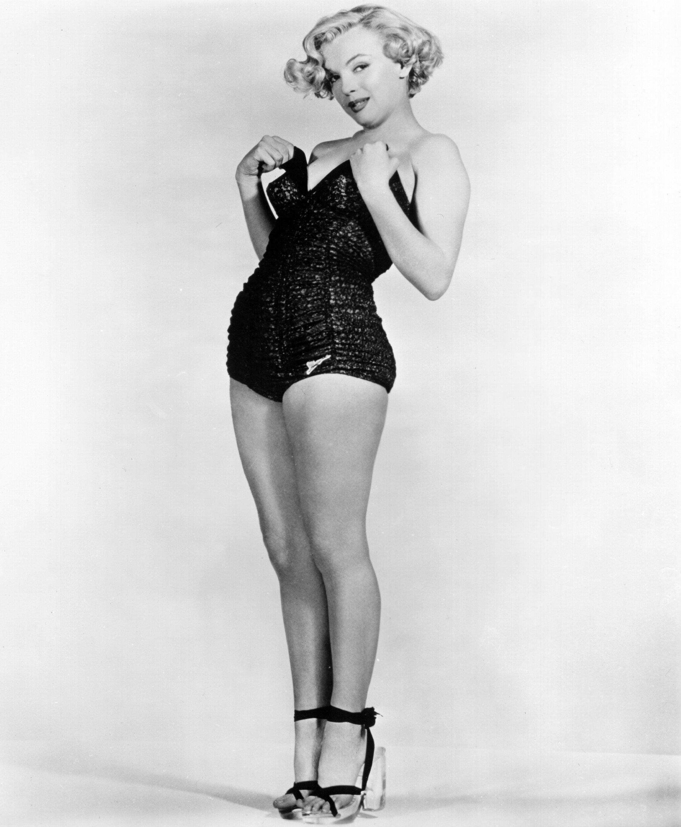 Pinup Monroe Marilyn 1951