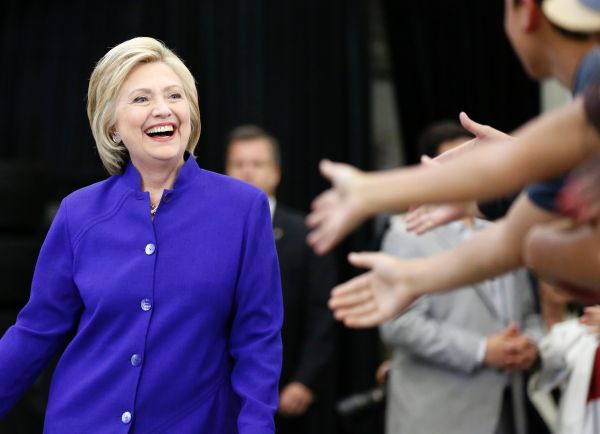 Hillary Clinton Highlights Historic Win In Election Night ...