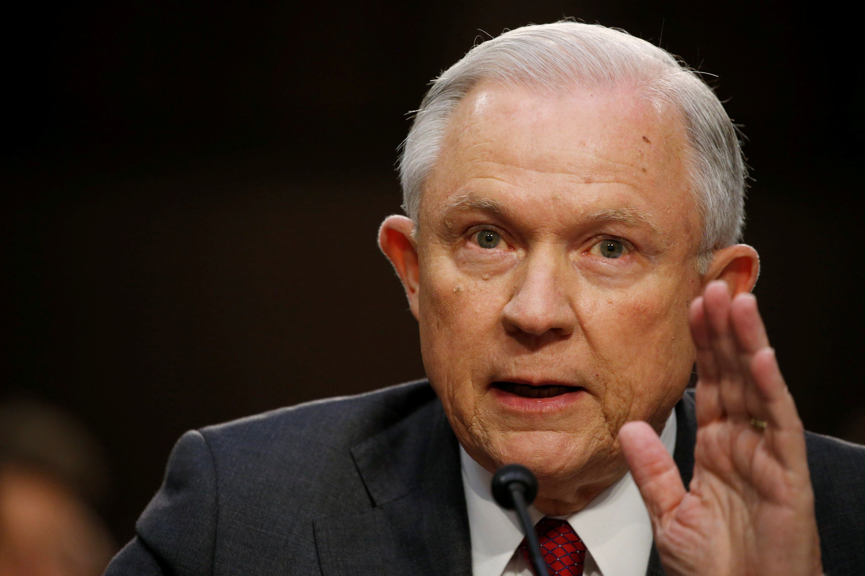 Jeff Sessions Insists He's Not 'Stonewalling' By Not ...
