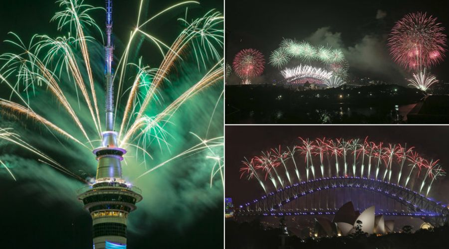 New Year's Eve: Sydney Harbour Bridge Lights Up 2017 With ...