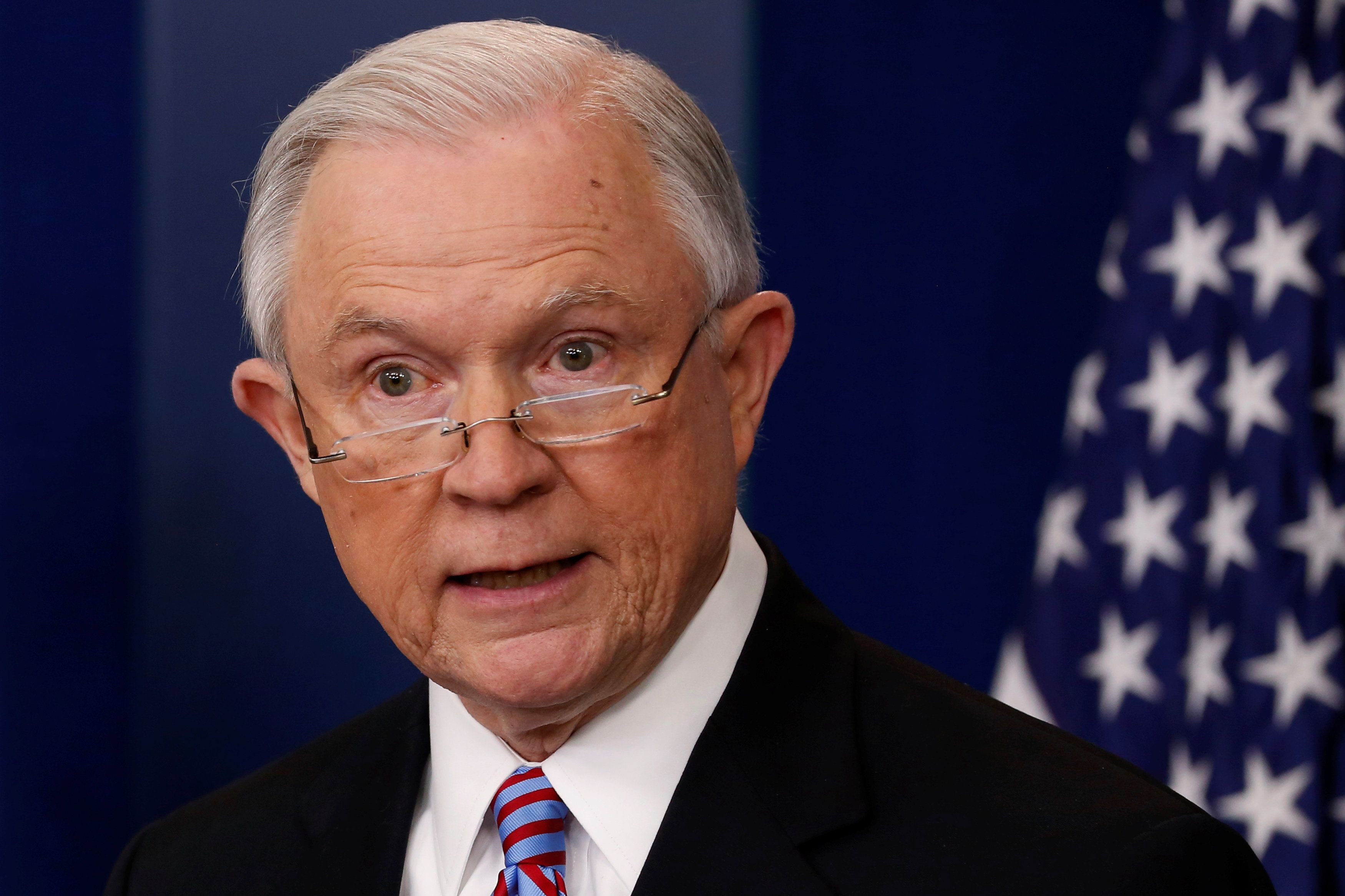 Jeff Sessions Is All Over The Place On States' Rights ...