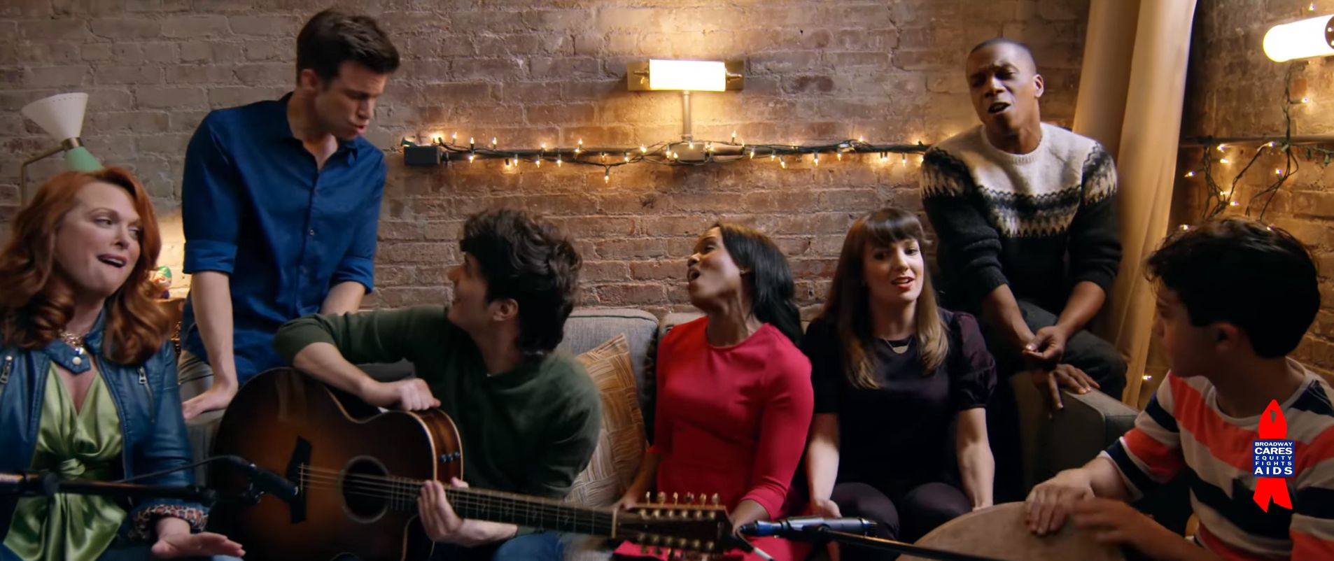 Image for Broadway Stars 'Give A Little Bit' To Say Thanks This Holiday Season