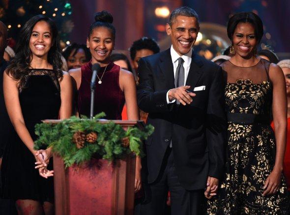 Image result for obama family 2016