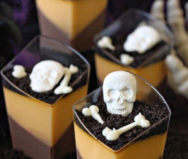 The Creepiest Scariest Dessert Recipes Your Halloween Needs Huffpost Life
