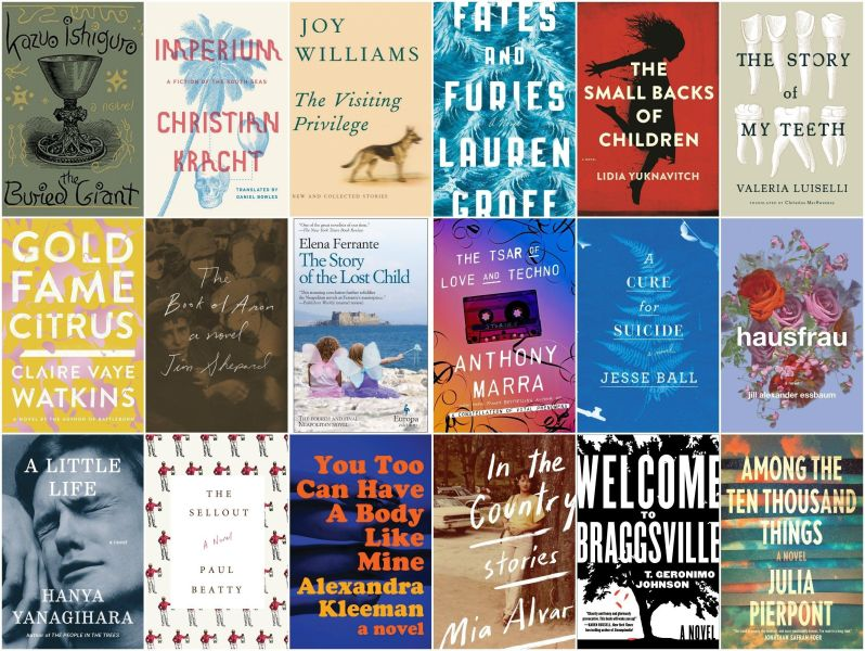The 18 Best Fiction Books Of 2015   HuffPost The 18 Best Fiction Books Of 2015