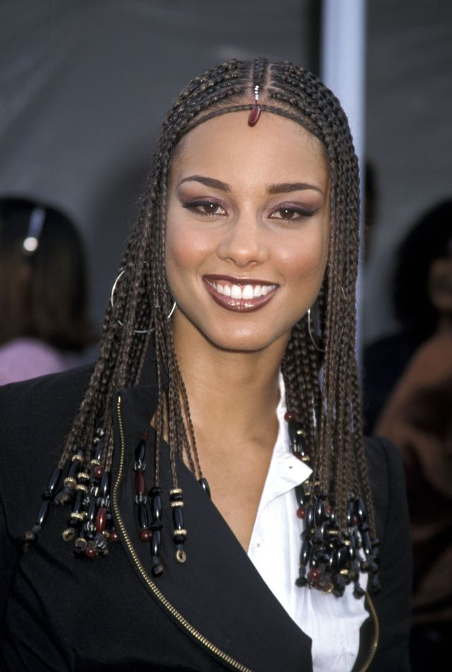 alicia keys' most head-turning hairstyles of all time