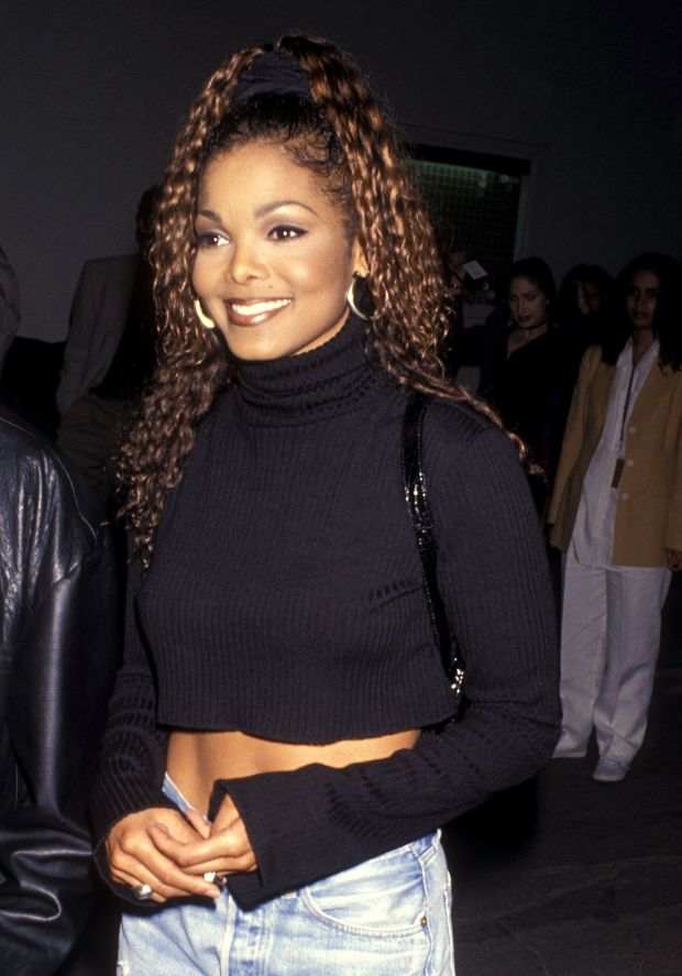 """Atthe party for hersold-out concert tour and plaque presentation for 10 million copies of """"Janet"""" album in Culve"""