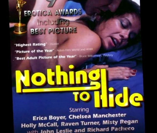 Fishbein Says S Nothing To Hide Is The Best Porn Film Of All Time