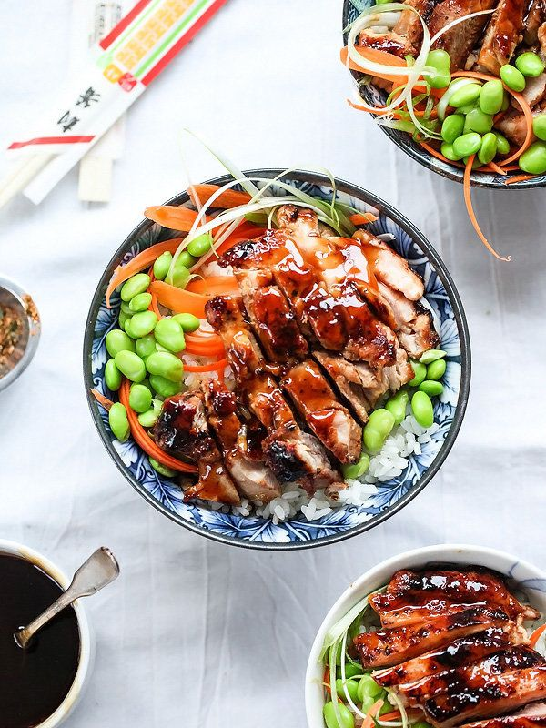 "<strong>Get the <a href=""http://www.foodiecrush.com/teriyaki-chicken-rice-bowls/"" target=""_blank"">Teriyaki Chicken Rice Bowl"