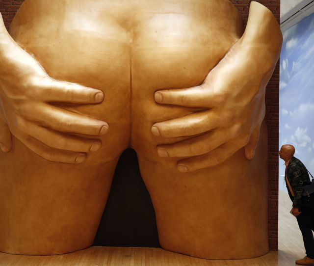 Terrifyingly Large Butt Sculpture Is Among Prize Nominated Art In  Huffpost