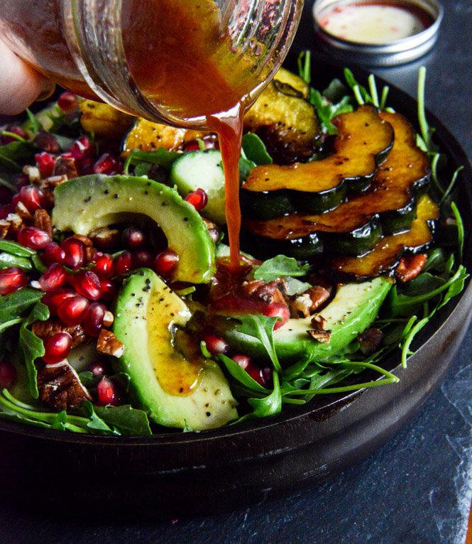 Autumn Arugula Saladfrom How Sweet Eats