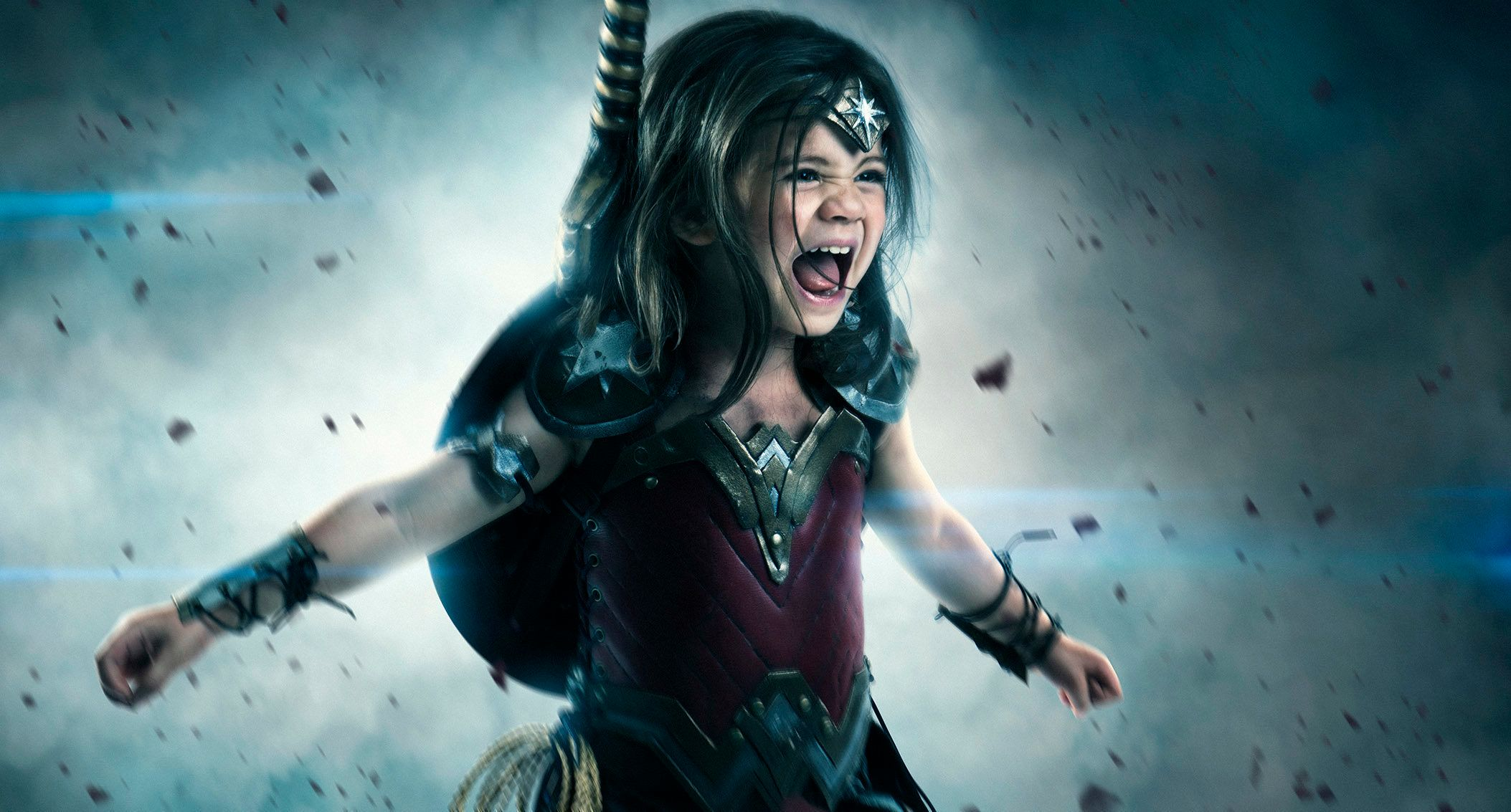 Dad Transforms 3-Year-Old Daughter Into The Fiercest ...