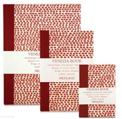 "Venezia Fabriano Sketch Books from <a href=""http://www.cheapjoes.com/fabriano-venezia-art-books.html"" target=""_blank"">Cheap J"
