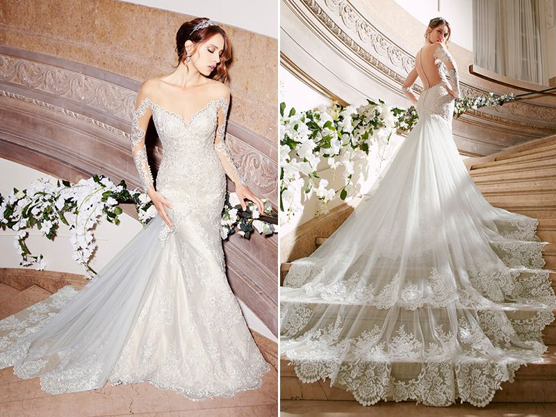 The 25 Most-Pinned Wedding Dresses Of 2016