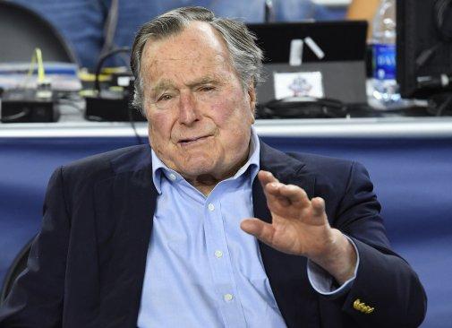 Bildergebnis für Former U.S. President, George H.W. Bush