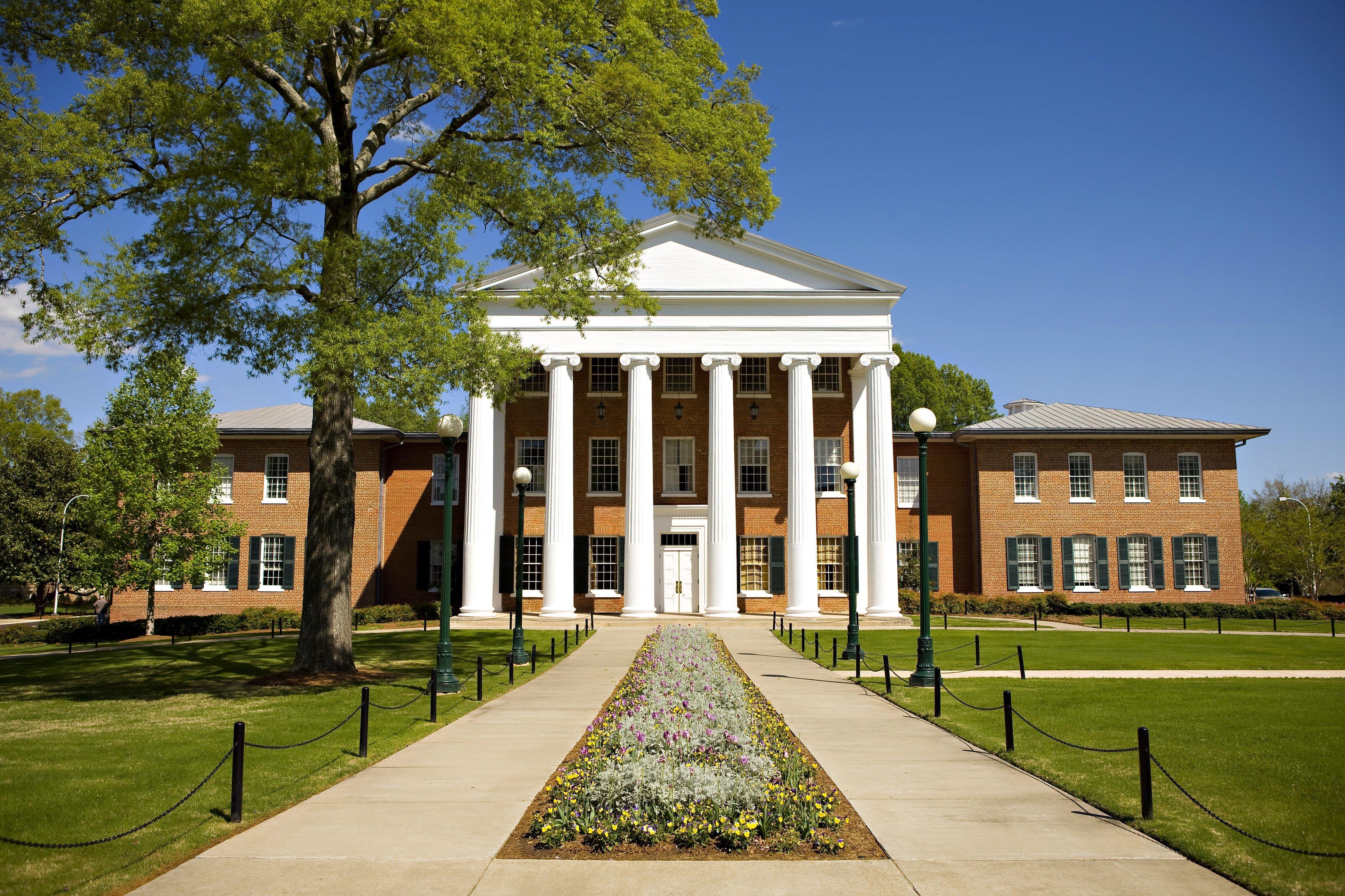 Ole Miss Campus Buildings