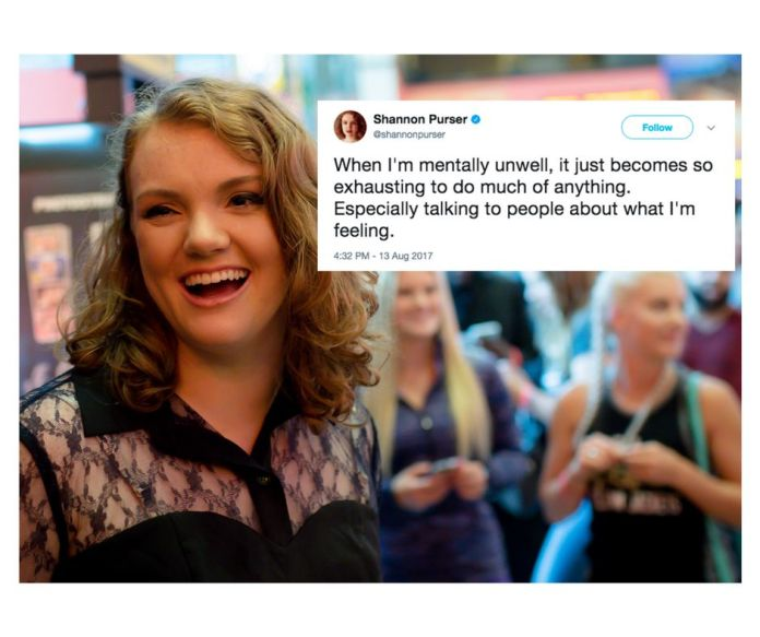 shannon purser nails one of the worst parts about mental illness Shannon Purser Nails One Of The Worst Parts About Mental Illness 5991ec531500007d208b67f9