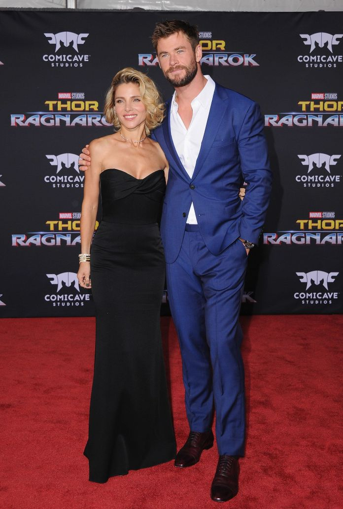 Miley Cyrus And Liam Hemsworth Step Out For Rare Red Carpet Appearance Miley Cyrus And Liam Hemsworth Step Out For Rare Red Carpet Appearance 59de27582d00009717309bd5