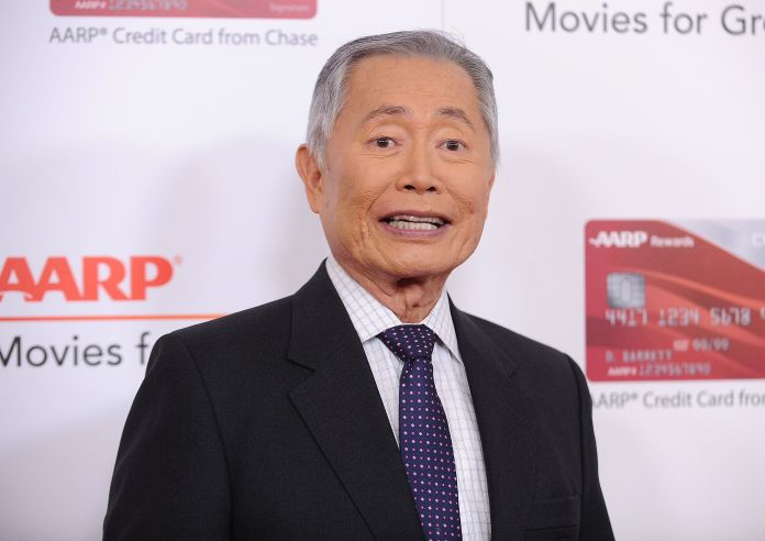 George Takei Says He Was Playing 'Naughty' Grandpa In Cringeworthy Interview George Takei Says He Was Playing 'Naughty' Grandpa In Cringeworthy Interview 5a0b0a741b0000e72a376fa5
