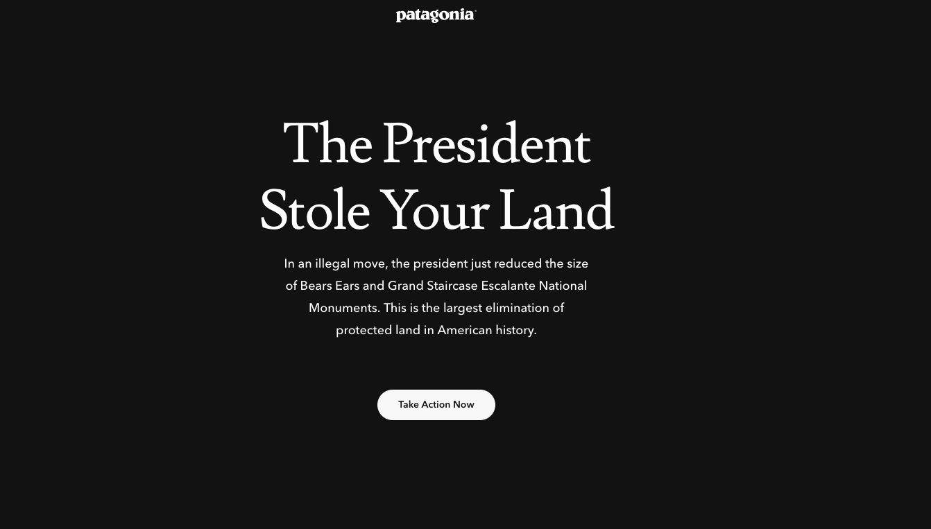 Politician Direct 5a25e2d2150000459385b764 Patagonia Joins Coalition Suing To Block Trump's Federal Land Cuts Huffington Post Politics