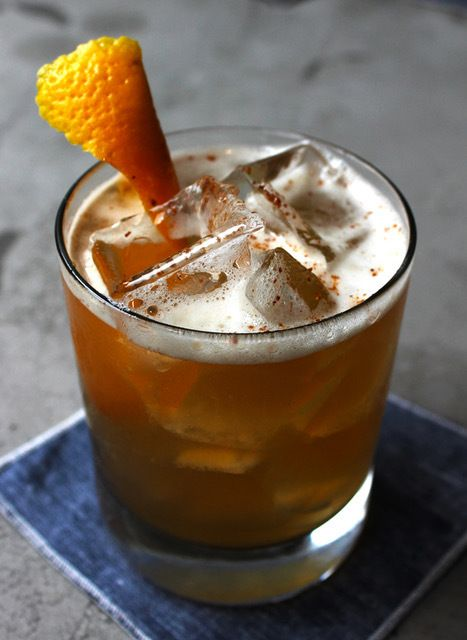 CH Distillery's Mole Fashioned