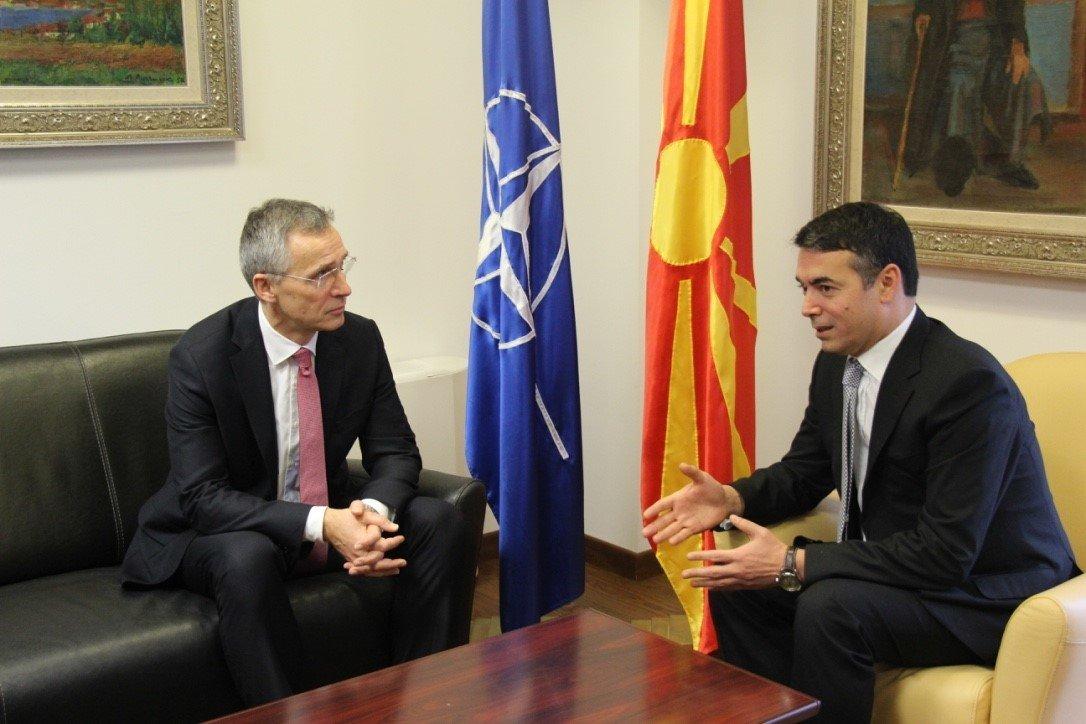 Να επιδείξει ρεαλισμό κάλεσε την πΓΔΜ ο γ.γ. του ΝΑΤΟ