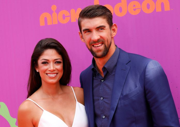 Michael Phelps And Wife Nicole Welcome Second Son, Beckett Michael Phelps And Wife Nicole Welcome Second Son, Beckett 5a844a782100005000601367