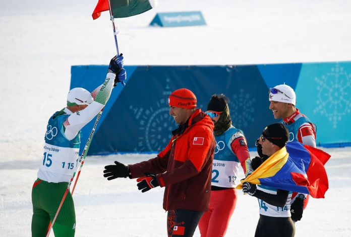 Mexican Cross-Country Skier Finishes Last, Gets Tearjerking Hero's Welcome Mexican Cross-Country Skier Finishes Last, Gets Tearjerking Hero's Welcome 5a86b0af2000002d00eaf0c7