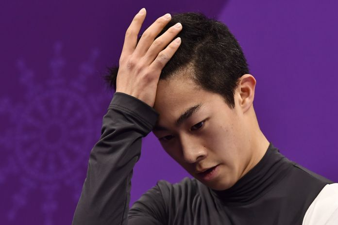 U.S. Figure Skater Nathan Chen Is A Total Mess Again At Winter Olympics U.S. Figure Skater Nathan Chen Is A Total Mess Again At Winter Olympics 5a86b3d2210000390060167c