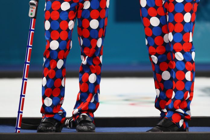 The Norwegian Curling Team Should Win Gold For Their Pants The Norwegian Curling Team Should Win Gold For Their Pants 5a86f24c1e000037007abe70