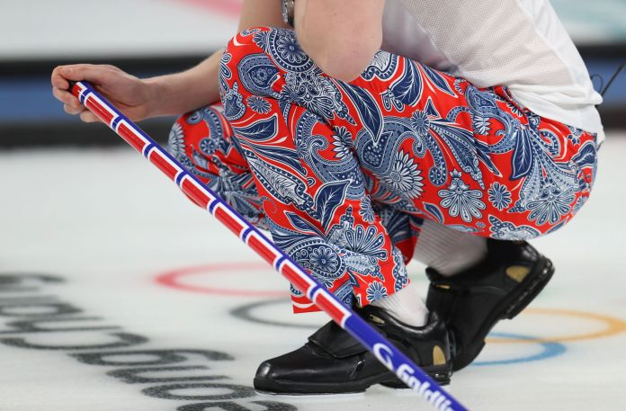 The Norwegian Curling Team Should Win Gold For Their Pants The Norwegian Curling Team Should Win Gold For Their Pants 5a8afafd2100003900601aa7