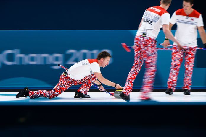 The Norwegian Curling Team Should Win Gold For Their Pants The Norwegian Curling Team Should Win Gold For Their Pants 5a8afbac2000004d00eaf4f5