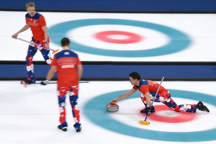 The Norwegian Curling Team Should Win Gold For Their Pants The Norwegian Curling Team Should Win Gold For Their Pants 5a8c40be2100003900601c49
