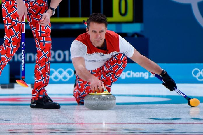 The Norwegian Curling Team Should Win Gold For Their Pants The Norwegian Curling Team Should Win Gold For Their Pants 5a8d92cc1e000008087ac616