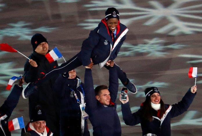Stunning Photos Capture The 2018 Olympics' Closing Ceremony In All Its Glory Stunning Photos Capture The 2018 Olympics' Closing Ceremony In All Its Glory 5a92c75e2000002d00eafe55