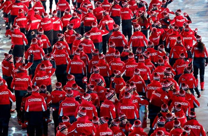 Stunning Photos Capture The 2018 Olympics' Closing Ceremony In All Its Glory Stunning Photos Capture The 2018 Olympics' Closing Ceremony In All Its Glory 5a92d8e92000002d00eafe5f