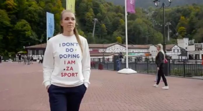 Russian Olympian Who Wore 'I Don't Do Doping' Shirt Fails Doping Test Russian Olympian Who Wore 'I Don't Do Doping' Shirt Fails Doping Test 5a93eb74210000ed066024f4