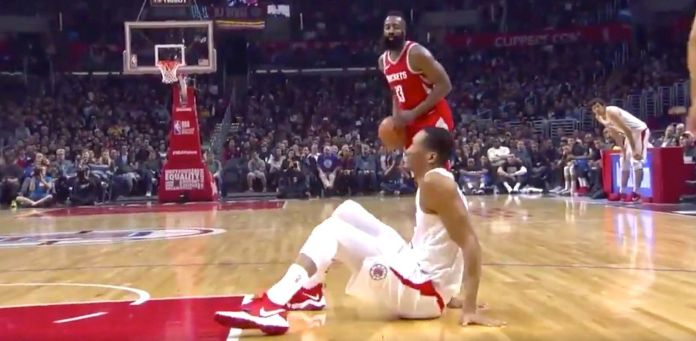 James Harden Shows No Mercy To Wesley Johnson In Brutal Ankle-Breaker James Harden Shows No Mercy To Wesley Johnson In Brutal Ankle-Breaker 5a97ac231f00005200168c9f