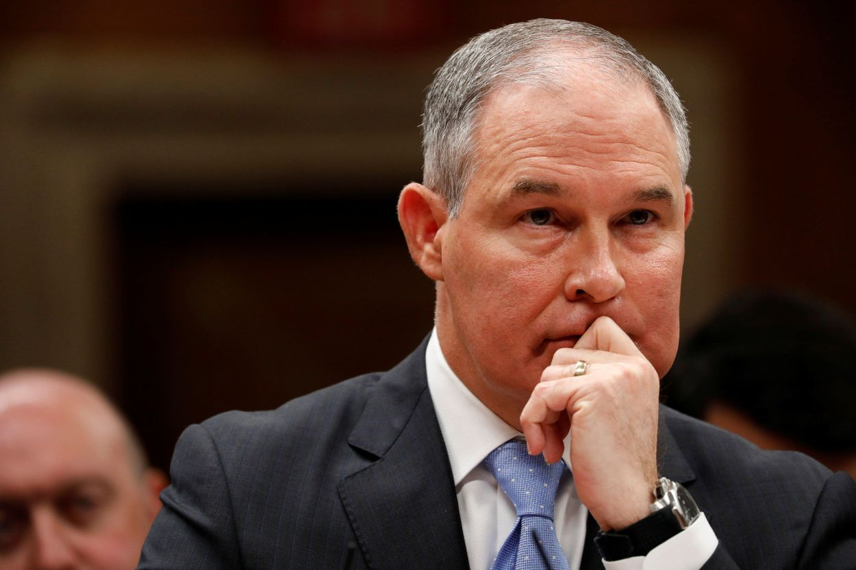 Environmental Protection Agency Administrator Scott Pruitt joins the long list of Trump administration departures.